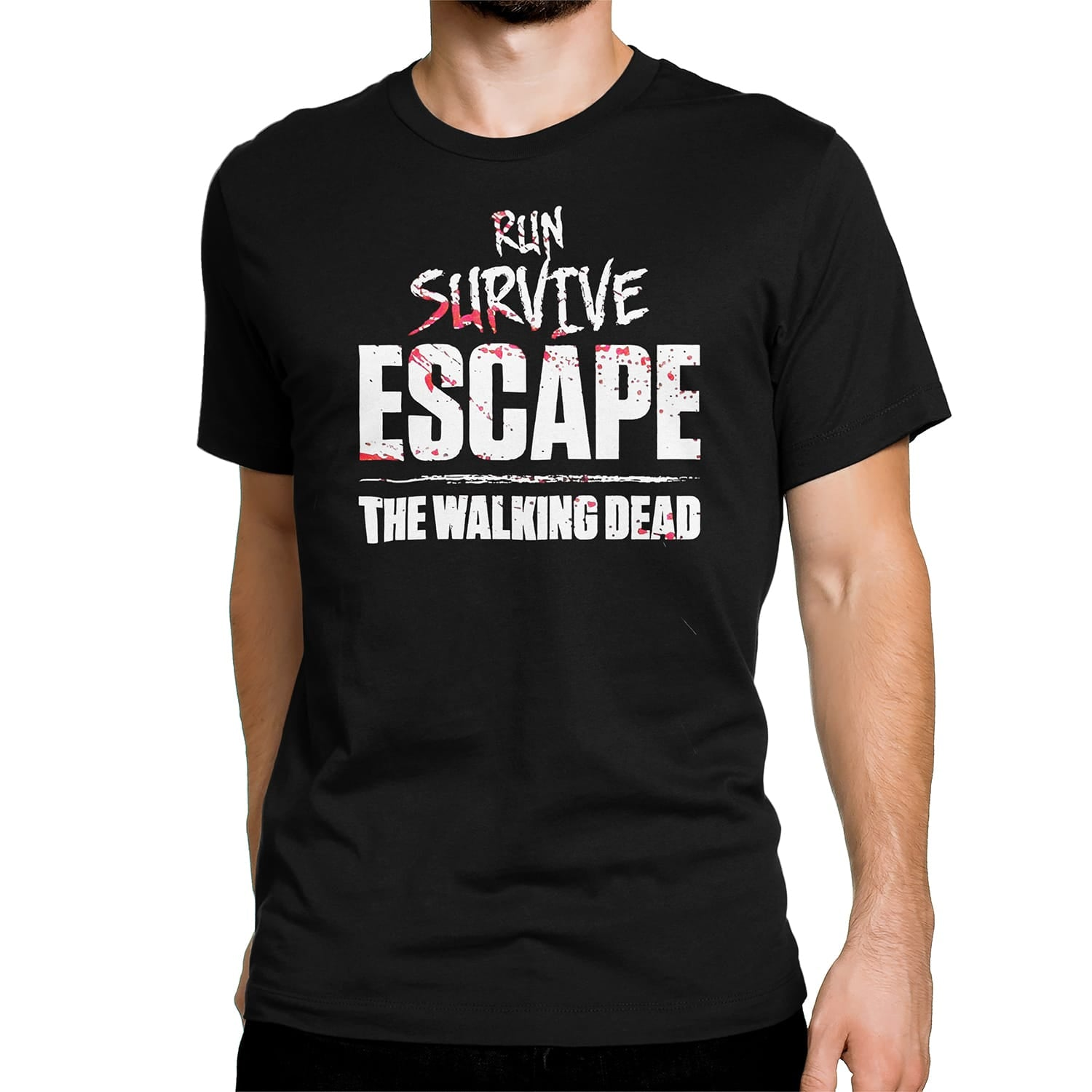 "THE WALKING DEAD: ""Run Survive Escape"" T-Shirt"