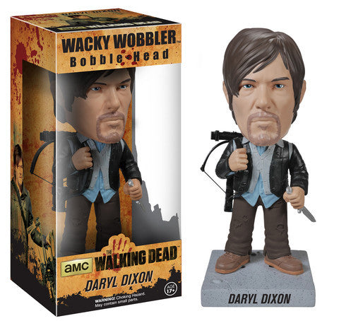 AMC's THE WALKING DEAD Funko! Wacky Wobbler Bobbleheads - Daryl Dixon (Biker)