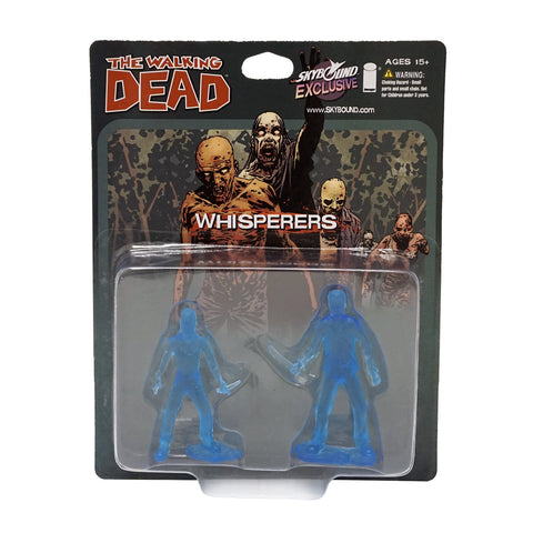 THE WALKING DEAD - The Whisperers PVC Figure 2-Pack (Translucent Blue)