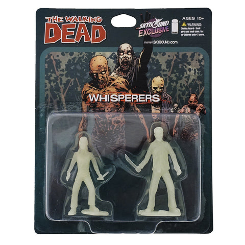 THE WALKING DEAD - The Whisperers PVC Figure 2-Pack (Glow-in-the-Dark)
