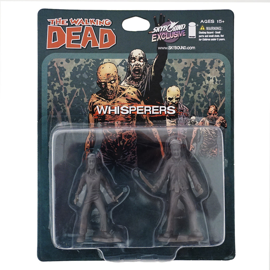 THE WALKING DEAD - The Whisperers PVC Figure 2-Pack (Grey)
