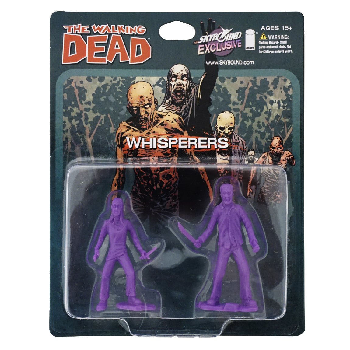 THE WALKING DEAD - The Whisperers PVC Figure 2-Pack (Purple)