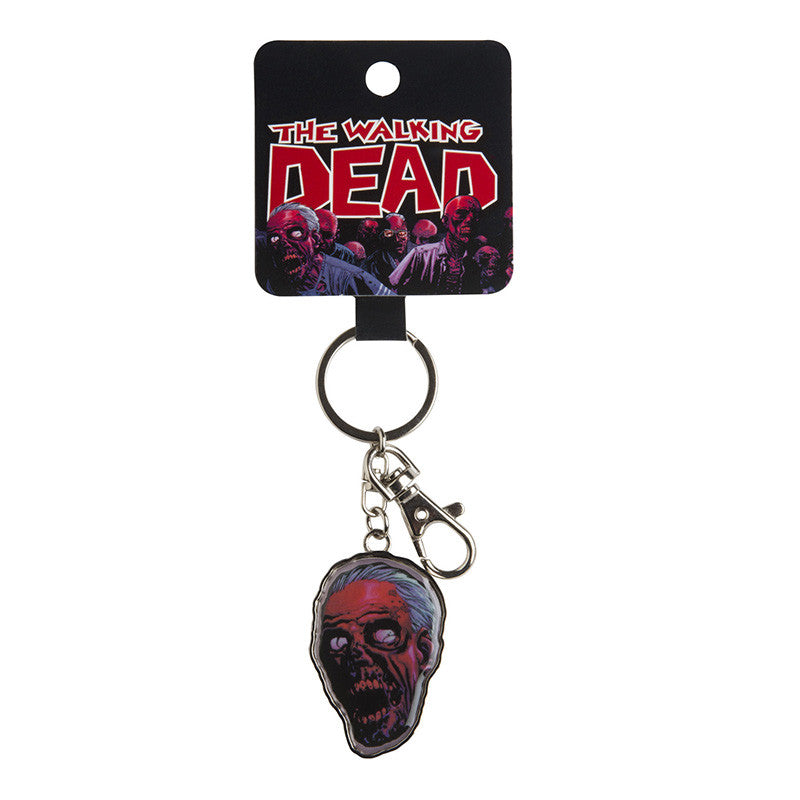 The Walking Dead Zombie Head Keychain