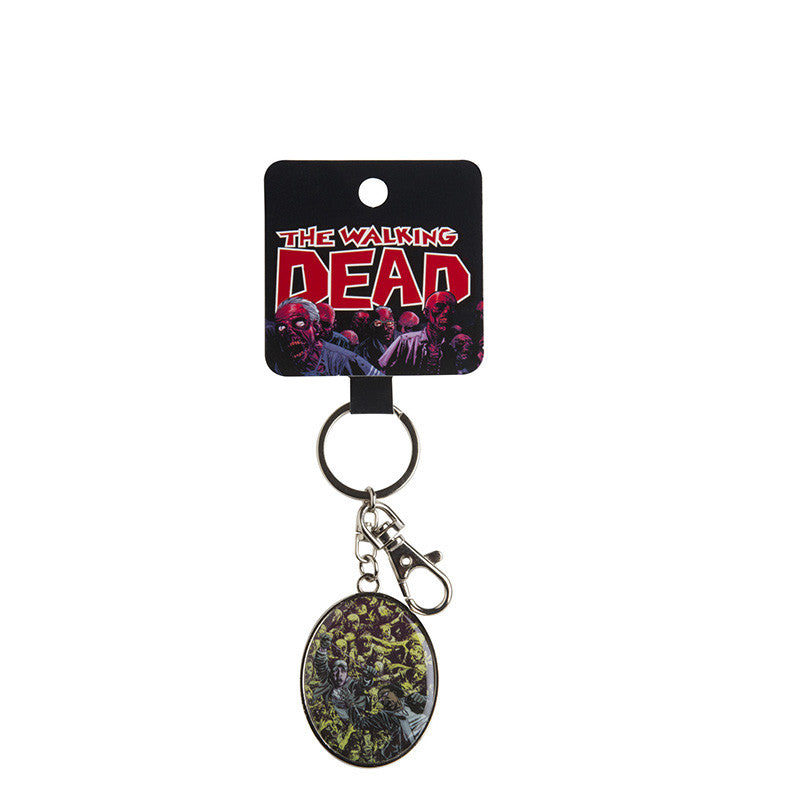 The Walking Dead Mob Keychain
