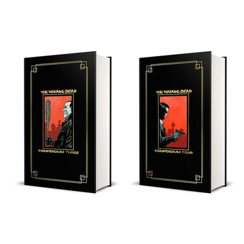 The Walking Dead Gold Foil Compendium 3&4 - Golden Bundle Pack