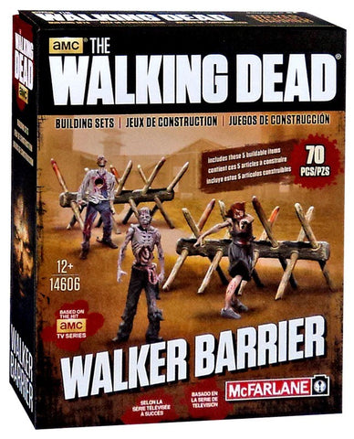 AMC's THE WALKING DEAD Construction Set - Walker Barrier