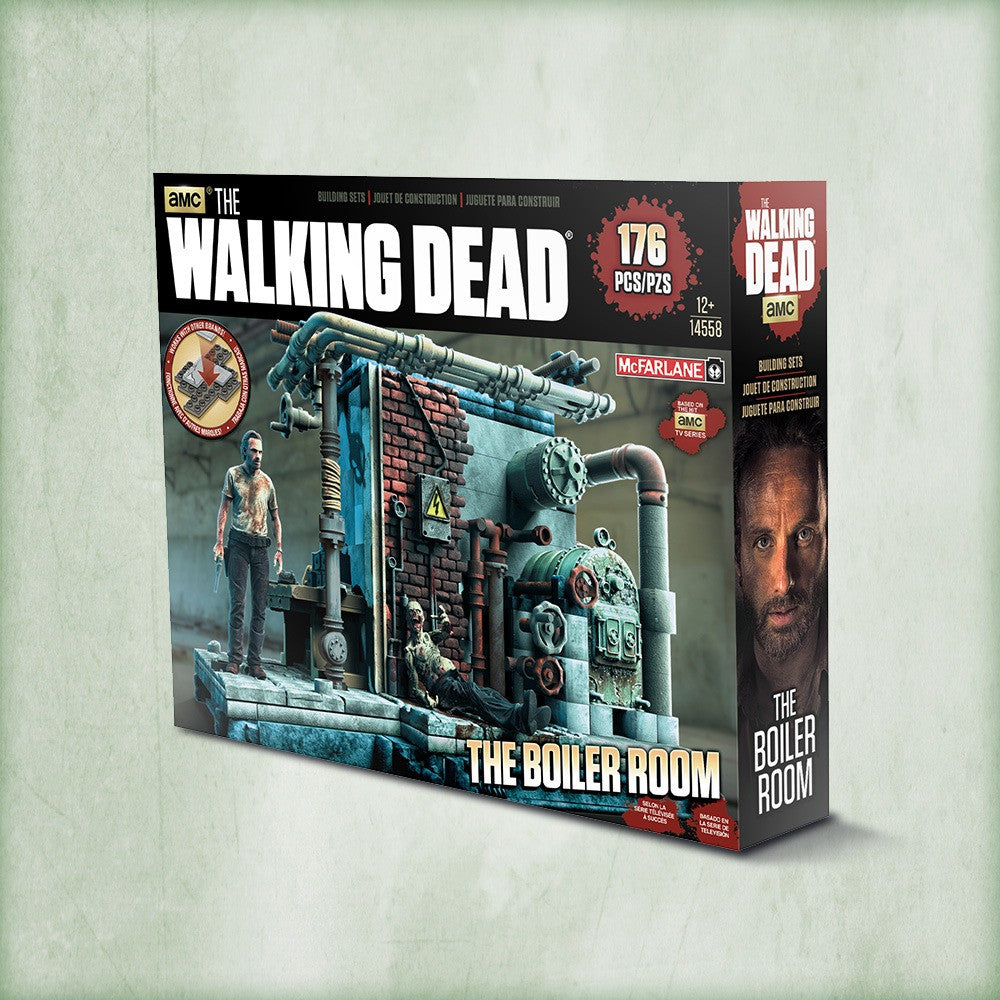 AMC's THE WALKING DEAD Construction Set - The Boiler Room