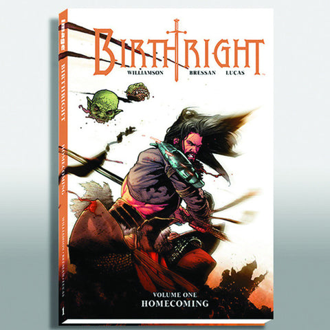 "BIRTHRIGHT Volume 1 - ""Homecoming"" Hardcover"