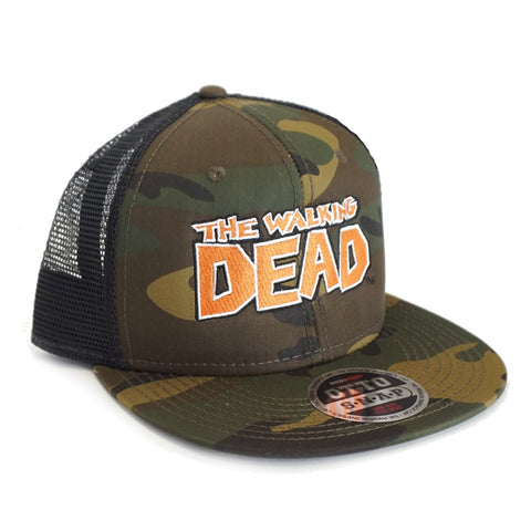 THE WALKING DEAD: Camo Trucker Hat