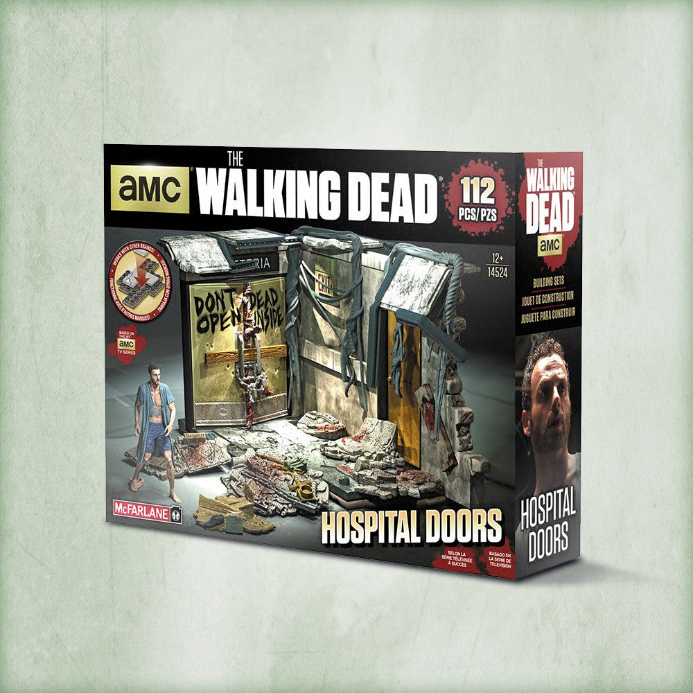AMC's THE WALKING DEAD Construction Set - Hospital Doors