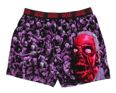 "THE WALKING DEAD: ""Zombie Herd"" Boxers"