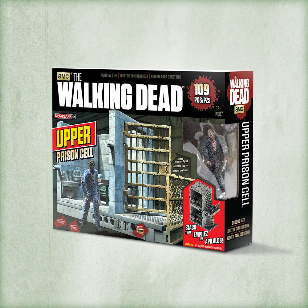 AMC's THE WALKING DEAD Construction Set - Upper Prison Cell