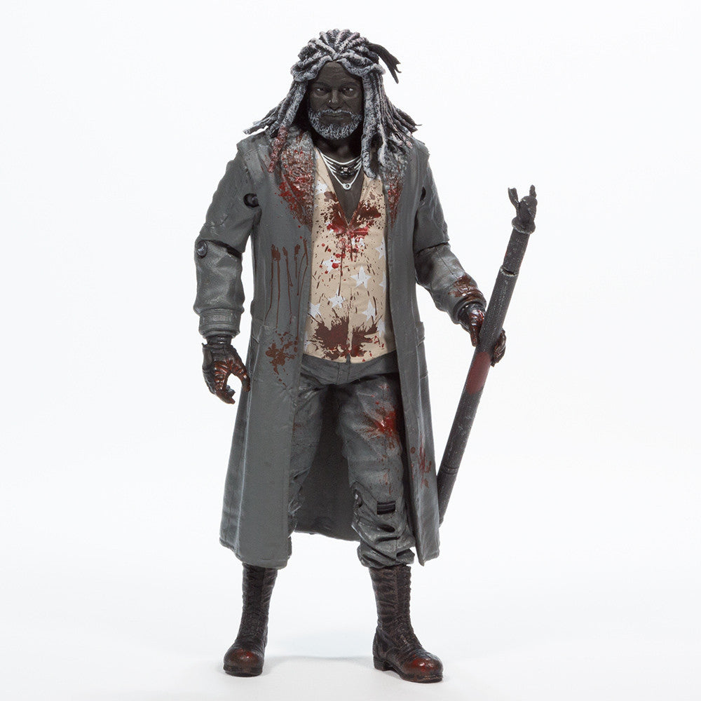 THE WALKING DEAD Ezekiel Action Figure (Bloody B&W)