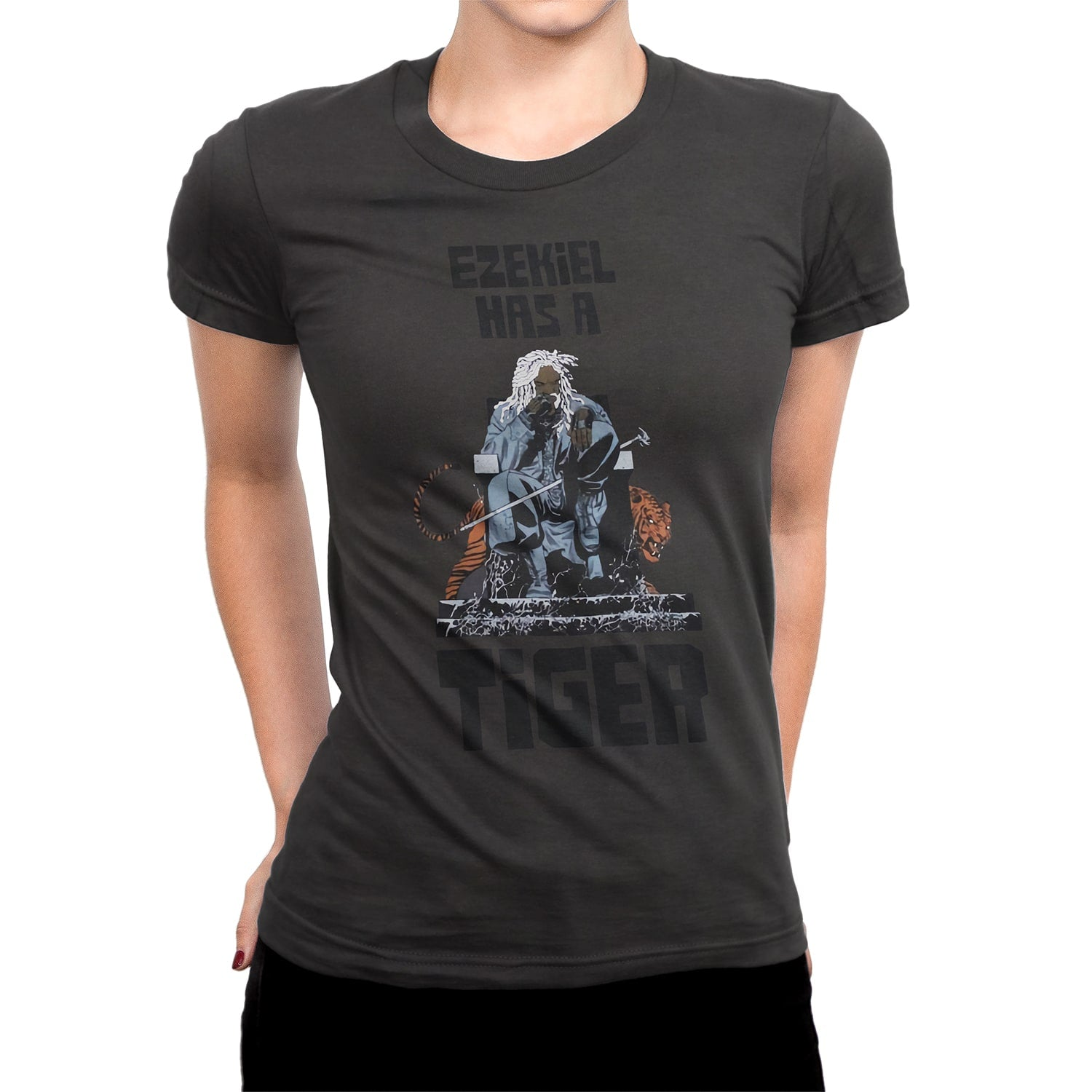 "THE WALKING DEAD: ""Ezekiel Has a Tiger"" T-Shirt (Women's)"