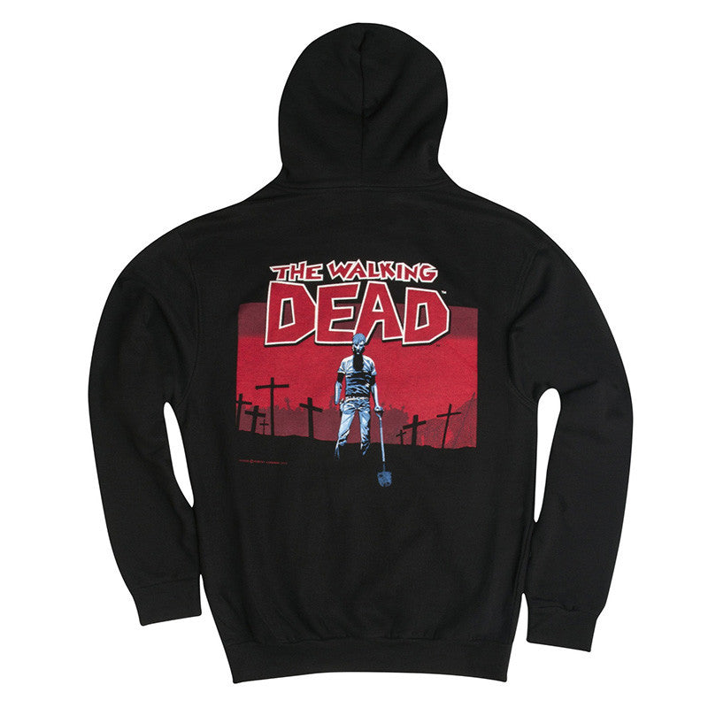 "THE WALKING DEAD: ""Grave Digger"" Black Hoodie"