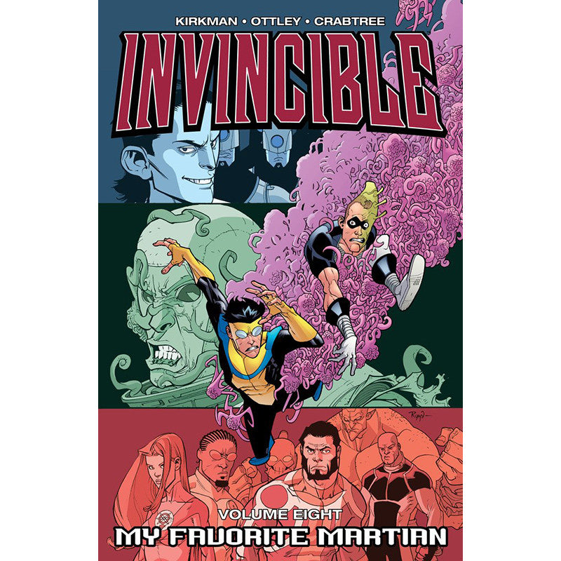 "INVINCIBLE Volume 8 - ""My Favorite Martian"""
