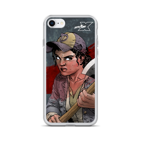 "Telltale Walking Dead ""Clementine Skybound X"" - iPhone Case"