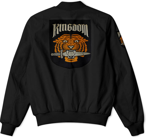The Walking Dead Faction Kingdom Bomber Jacket