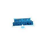 "Movie Trivia Schmoedown ""The Usual Suspects"" - Sticker"