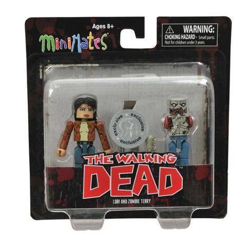 THE WALKING DEAD Minimates - Lori & Zombie Terry