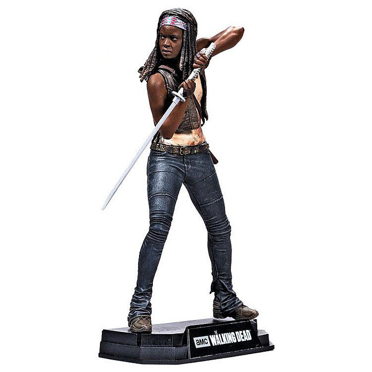 "AMC's THE WALKING DEAD - Color Tops - Red Wave - Michonne - 7"" Action Figure #2"