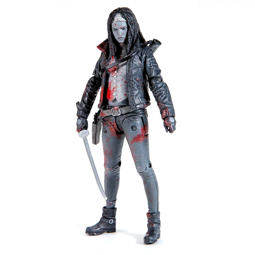 THE WALKING DEAD Michonne 2015 Action Figure (Bloody B&W)