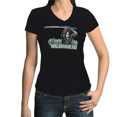 "THE WALKING DEAD: ""Michonne Katana"" T-Shirt (Women's)"