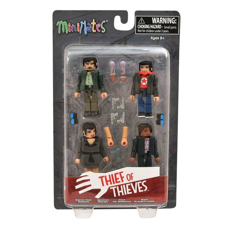 THIEF OF THIEVES Minimates - Redmond, Celia, Cohen, & Augustus