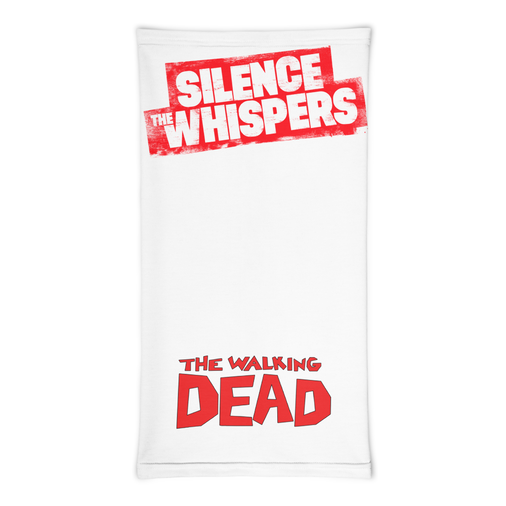 Silence The Whispers - White with Red Mask