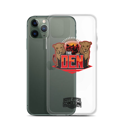"Movie Trivia Schmoedown ""The Den"" - iPhone Case"
