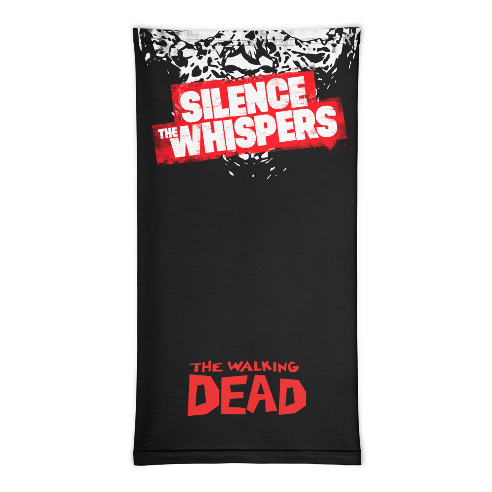 Silence The Whispers - Black with Red Walker Mask