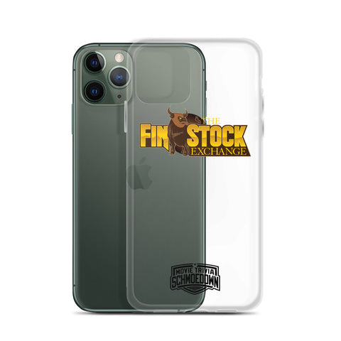 "Movie Trivia Schmoedown ""The Finstock Exchange"" - iPhone Case"