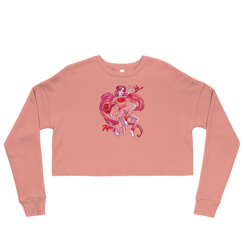 Ava's Demon - Crop Sweatshirt