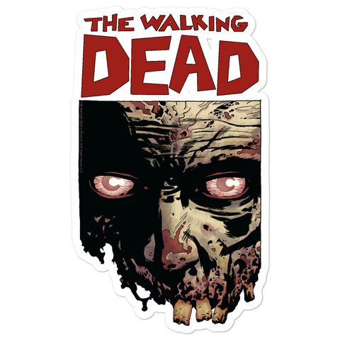 The Walking Dead - Walker Face Stickers