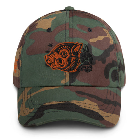 Attack Peter - War Hog Dad Hat in Camo