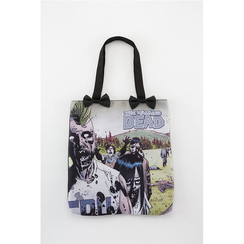 THE WALKING DEAD - Mohawk Zombie Tote Bag