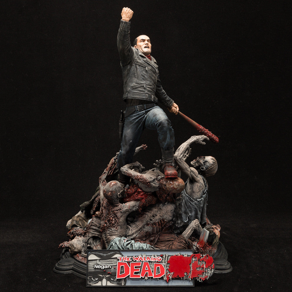 The Walking Dead Negan Resin Deluxe Boxed Statue