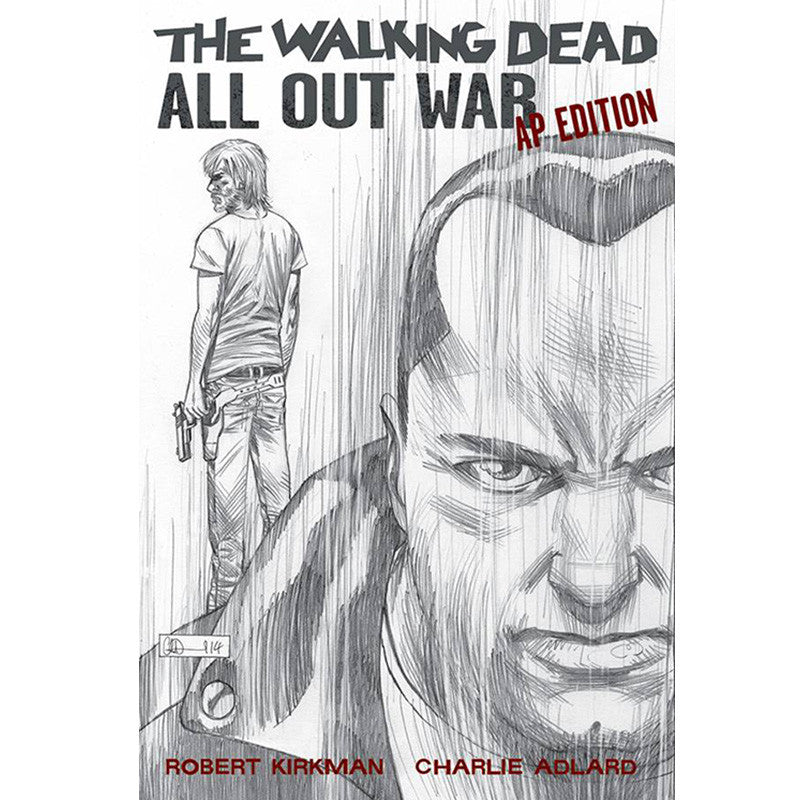 "THE WALKING DEAD - ""All Out War"" Artist's Proof Ed. Hardcover"