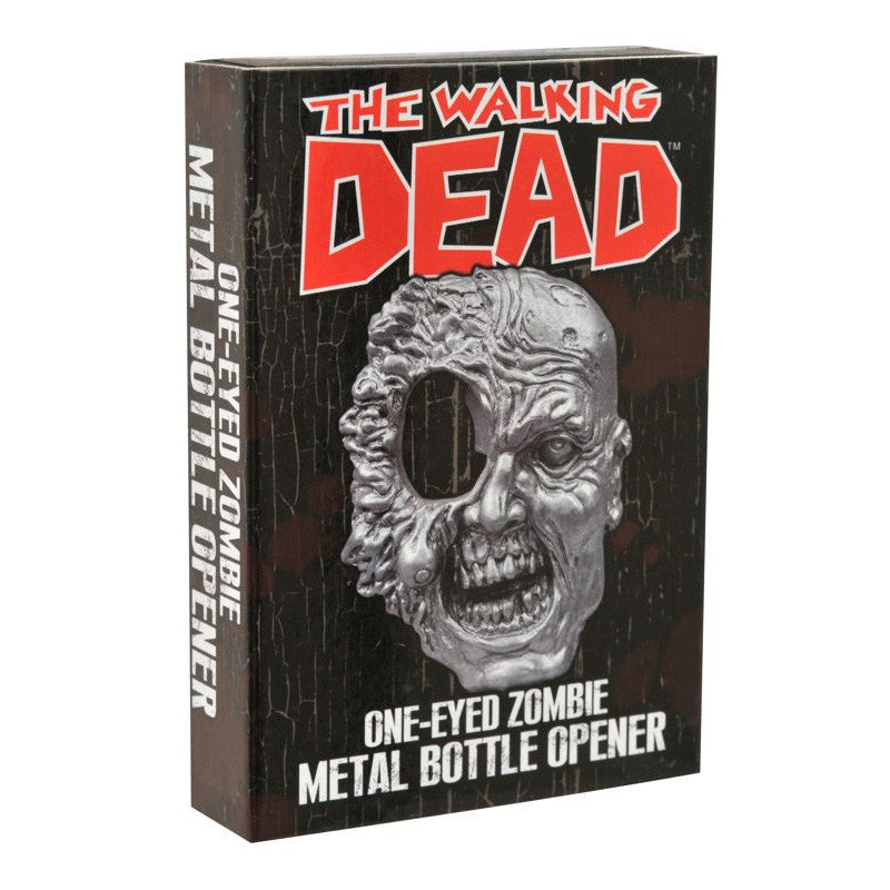 THE WALKING DEAD One-Eyed Zombie Bottle Opener