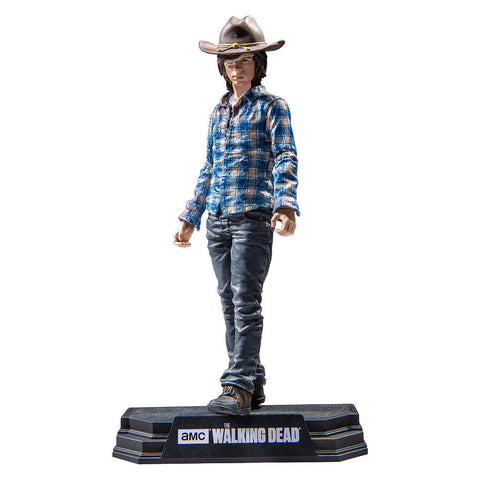 "AMC's THE WALKING DEAD - Color Tops - Blue Wave - Carl Grimes - 7"" Action Figure #15"