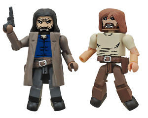 THE WALKING DEAD Minimates Series 7 - Mayor Rick Grimes and Paul Jesus Monroe