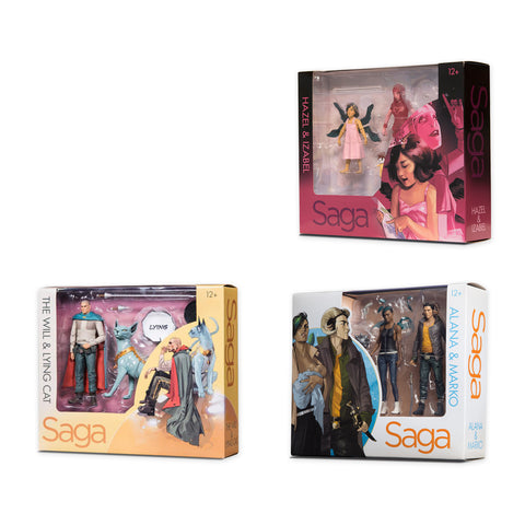 Saga Action Figure Bundle