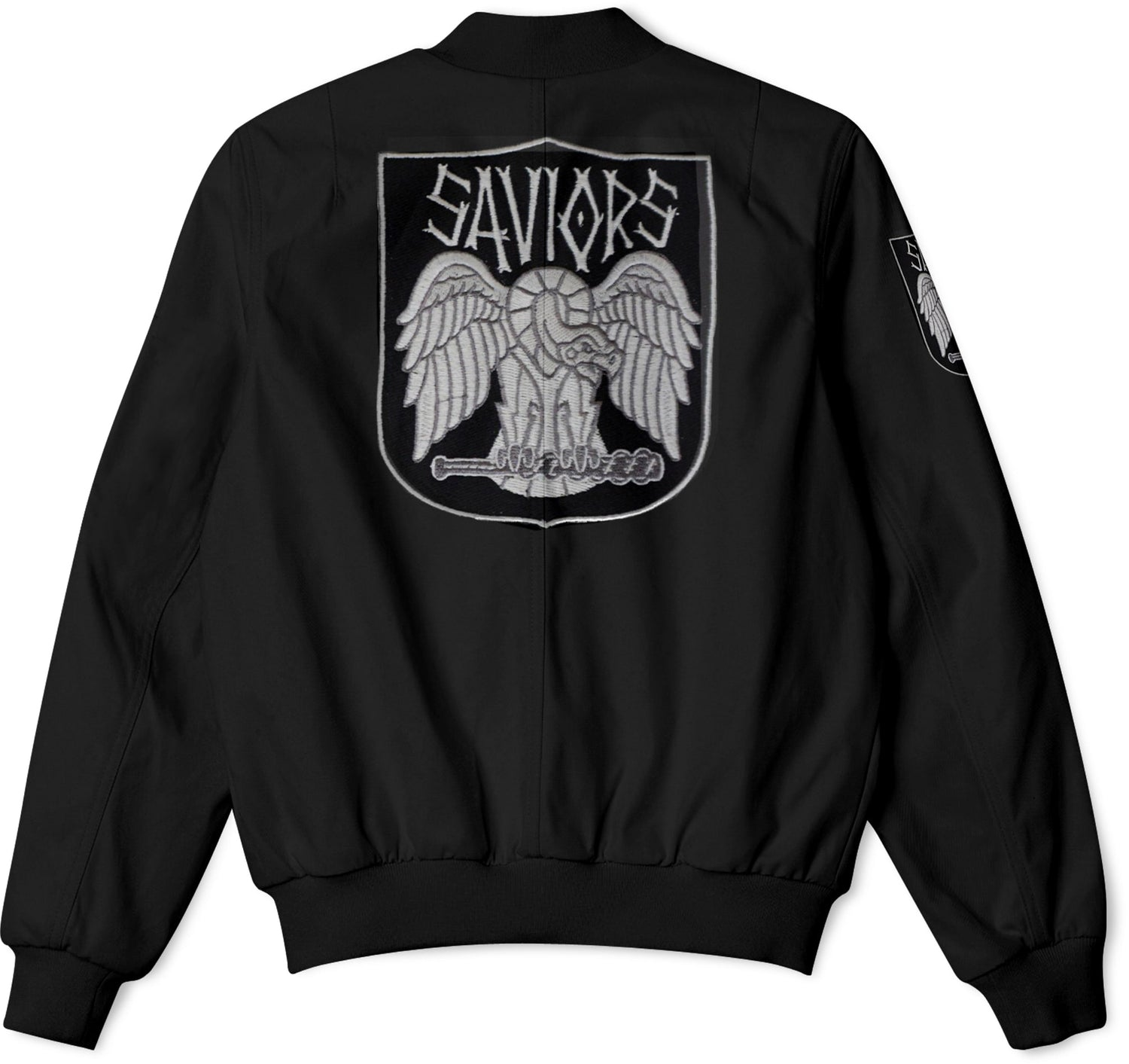 The Walking Dead Faction Saviors Bomber Jacket