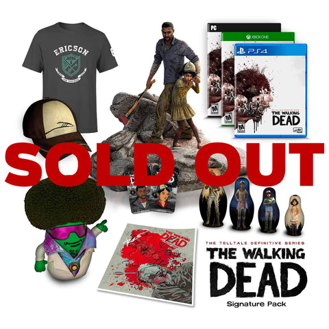 The Walking Dead: The Telltale Definitive Series - Signature Pack - Pre-Order