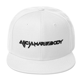 "Alicia Marie Body ""Logo Embroidered"" - Snapback Hat"