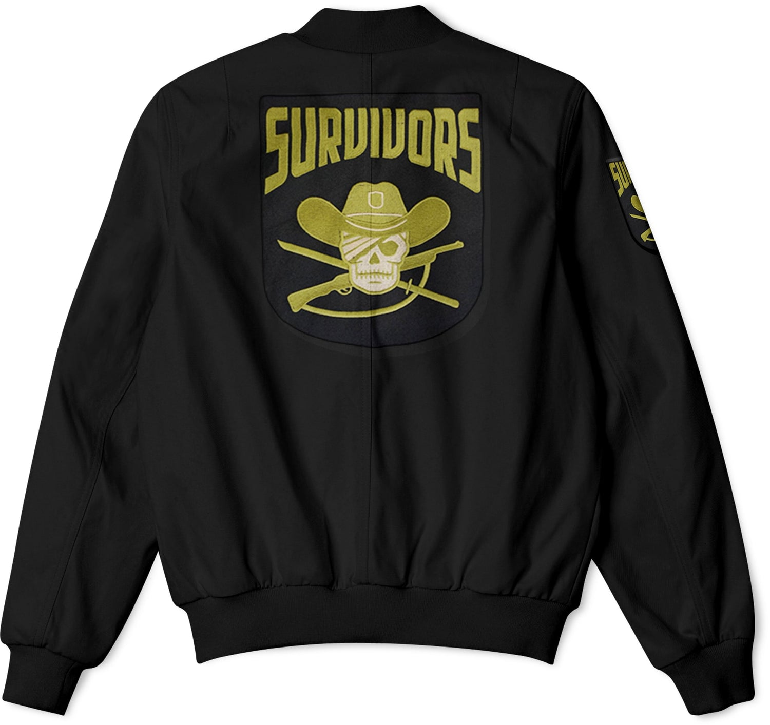 The Walking Dead Faction Survivors Bomber Jacket