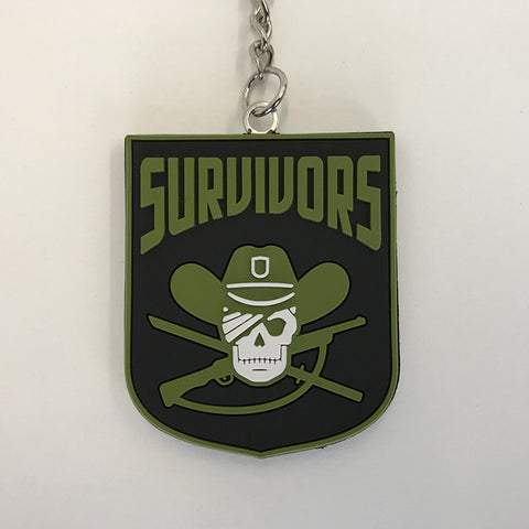 "THE WALKING DEAD ""Survivors"" Faction Keychain"