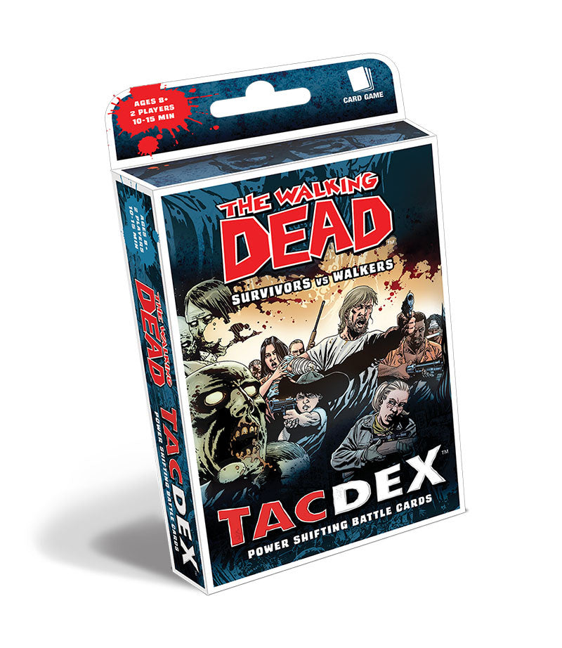 THE WALKING DEAD TacDex: Survivors vs Walkers