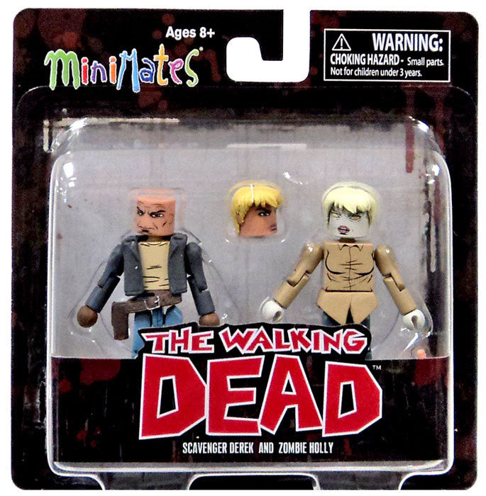 THE WALKING DEAD Minimates Series 7 - Scavenger Derek and Zombie Holly