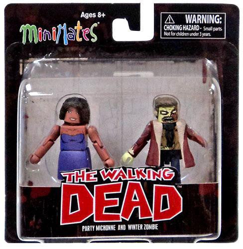 THE WALKING DEAD Minimates Series 6 - Party Michonne and Winter Zombie